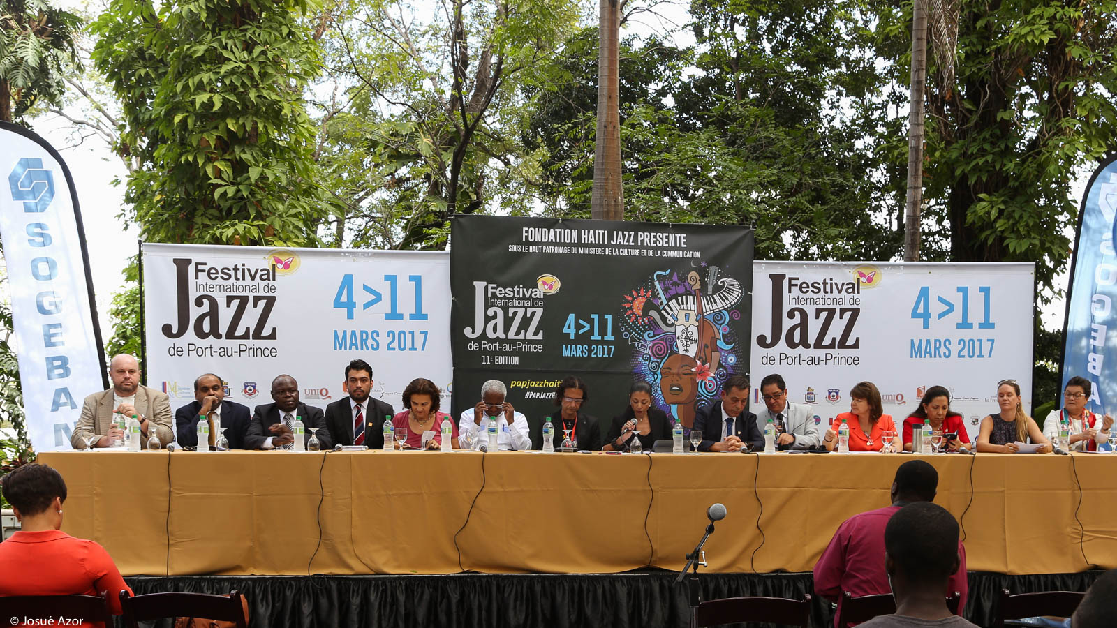 Février 2017 : 11e Festival International de Jazz de Port-au-Prince (Fondation Haïti Jazz)