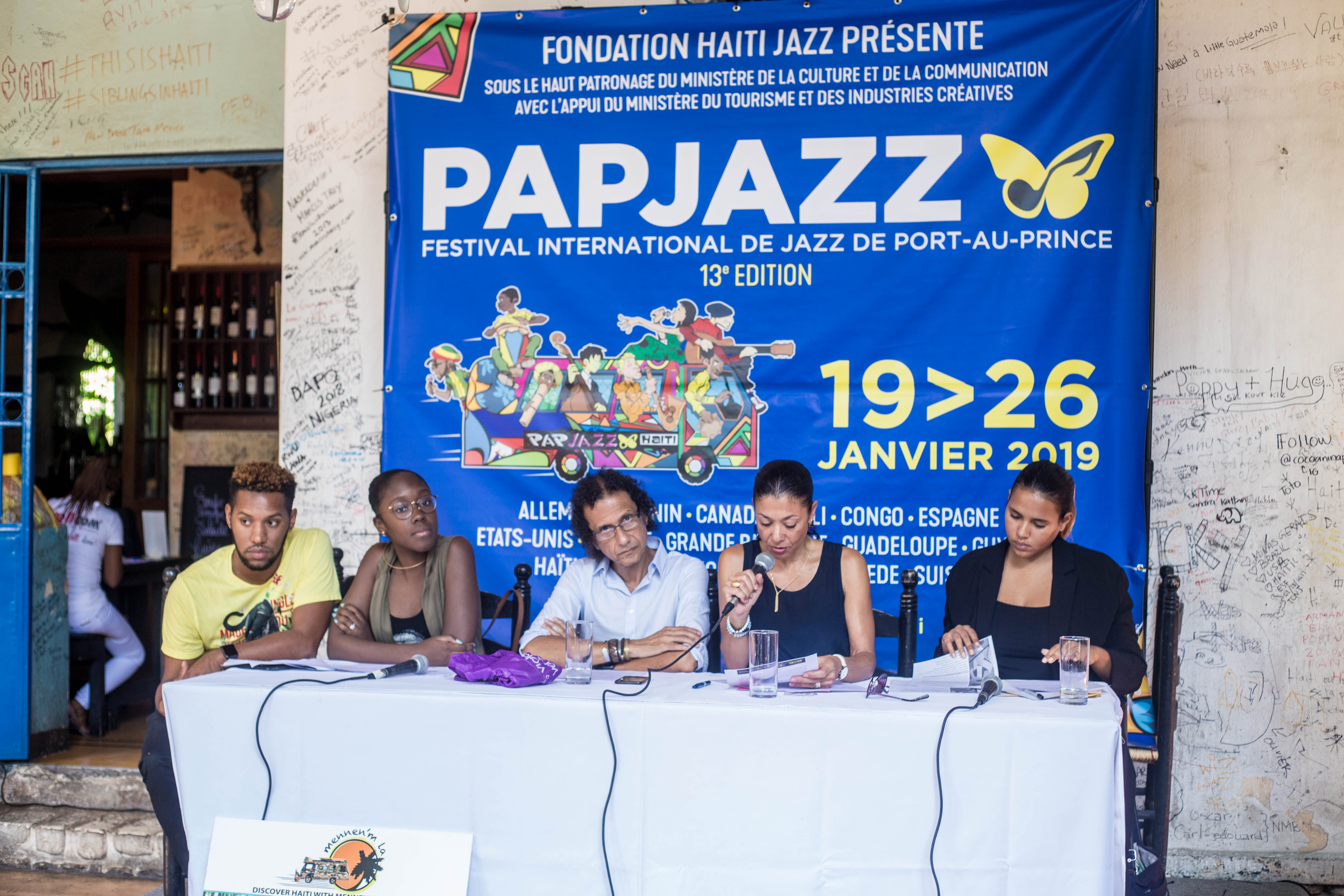 Conference de Presse – PapJazz Oct 18